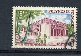 POLYNESIE - HOTEL DES POSTES À PAPEETE -  N° Yt 14 Obli. - Polinesia Francese