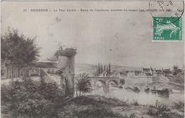 02    Soissons  La Tour Lardie  -ruines De L'ancienne Enceinte  Du Moyen Age - Soissons