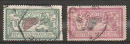 FRANCE   Merson   N° Y&T  207 Et 208  (o) - 1900-27 Merson