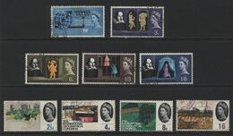 Great Britain(04) 1964 Phosphor Commemoratives - Used Stamps