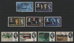Great Britain(04) 1964 Phosphor Used Commemoratives - Gebraucht