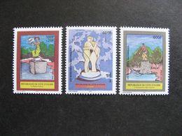 Cote D'Ivoire:  TB Série N° 1070 Au N° 1072, Neufs XX. - Côte D'Ivoire (1960-...)