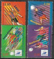 FRANCE    Coupe Du Monde De Football 1998     N° Y&T  3010 à 3013  ** - Neufs