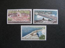 Cote D'Ivoire:  TB Serie PA N° 18 Au N°20, Neufs XX . - Côte D'Ivoire (1960-...)