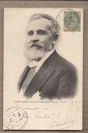 CPA POLITIQUE - EMILE LOUBET Président De La République Française TB PLAN PORTRAIT 1903 Oblitération - Personnages