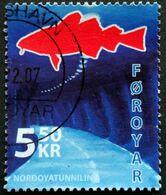 Faroe Islands  2006  The Nordoya Tunnel   MiNr.572 (O) ( Lot E 748 ) - Färöer Inseln