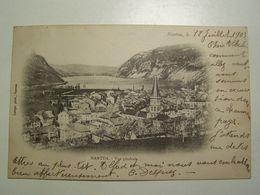 D01D NANTUA Vue Generale 1903 - Nantua