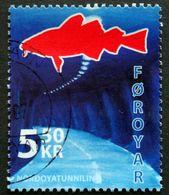 Faroe Islands  2006  The Nordoya Tunnel   MiNr.572 (O) ( Lot E 750 ) - Färöer Inseln