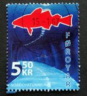 Faroe Islands  2006  The Nordoya Tunnel   MiNr.572 (O) ( Lot E 751 ) - Färöer Inseln