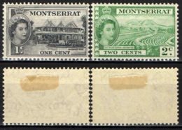 MONTSERRAT - 1953 - Government House, Cotton - MH - Montserrat