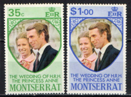 MONTSERRAT - 1973 - Princess Anne's Wedding - MNH - Montserrat