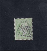 N° 20 De 1862, 5c. Vert - Napoléon III - Légende : Empire Franc - Gros Chiffre - 1862 Napoléon III.