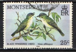 MONTSERRAT - 1984 - Bird: Brown Boobys - USATO - Montserrat
