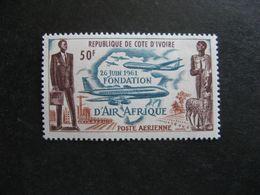 Cote D'Ivoire: TB PA N° 22, Neuf XX. - Côte D'Ivoire (1960-...)