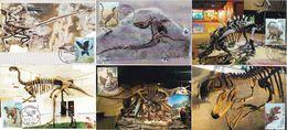 China 2017-11 CHINESE DINOSAUR LOCAL MC OF 6V WITH VIEW PMK - Prehistorics