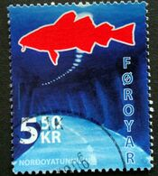 Faroe Islands  2006  The Nordoya Tunnel   MiNr.572 (O) ( Lot E 752 ) - Färöer Inseln