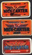 Stikers Nick Carter Jeans 3P USA FAS00086 - Sammelbilder, Sticker