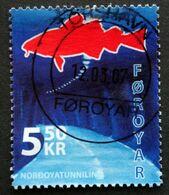 Faroe Islands  2006  The Nordoya Tunnel   MiNr.572 (O) ( Lot E 755 ) - Färöer Inseln