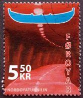 Faroe Islands  2006  The Nordoya Tunnel   MiNr.573 (O) ( Lot E 756 ) - Färöer Inseln