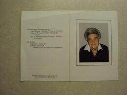 BP 344 - WAELKENS ALICE - VICHTE 24.03.1911  - WAREGEM 04.07.1995 - ZIE 2 FOTO'S - Santini