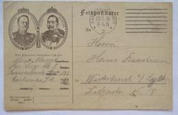 Kaiser Wilhelm Und Großherzog Friedrich, Patriotik Karlsruhe 1916 (54760) - Personnages
