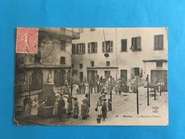 CPA CORSE BASTIA MARCHE AUX POISSONS DÉBUT 1900 - Bastia