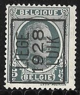 Luik 1928 Typo Nr. 176A - Sobreimpresos 1922-31 (Houyoux)