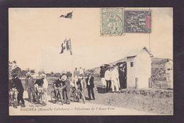 CPA Nouvelle Calédonie New Calédonia Océanie Circulé Nouméa Vélodrome De L'anse Vata Cyclisme - Nueva Caledonia