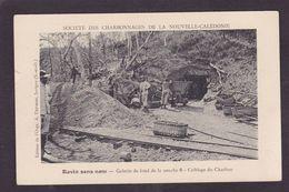 CPA Nouvelle Calédonie New Calédonia Océanie Circulé Mines De Charbon Mining Ravin Sans Nom - Nueva Caledonia
