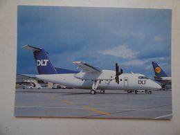 DLT   DASH 8   AIRLINE ISSUE / CARTE COMPAGNIE - 1946-....: Ere Moderne