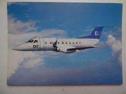 DLT   EMBRAER 120   AIRLINE ISSUE / CARTE COMPAGNIE - 1946-....: Ere Moderne