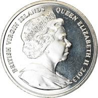 Monnaie, BRITISH VIRGIN ISLANDS, Dollar, 2013, Franklin Mint, Duchesse De - Iles Vièrges Britanniques
