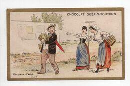- CHROMO CHOCOLAT GUÉRIN-BOUTRON - PARIS - Une Paire D'amis - - Guerin Boutron