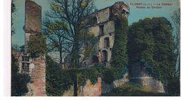 CPA CLISSON   Le Chateau Ruines Du Donjon - Clisson