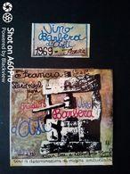 BARBERA D'ASTI FRANCIA 1969 - CELLA MONTE MONFERRATO (ALESSANDRIA) - ETICHETTA - ÉTIQUETTE - Vino Rosso