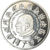 Monnaie, Sierra Leone, Dollar, 2005, British Royal Mint, Pape Jean Paul II, SPL - Sierra Leone