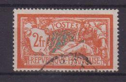 FRANCE : N° 145 . OBL . ECUSSON BRISE . TB . SIGNE SCHELLER . 1907 . ( CATALOGUE YVERT ) . - 1900-27 Merson