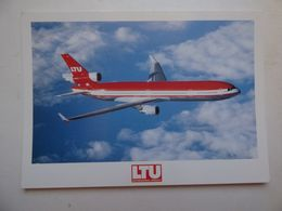 LTU   MD 11    AIRLINE ISSUE / CARTE COMPAGNIE - 1946-....: Ere Moderne