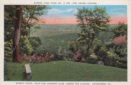 UNIONTOWN, Pennsylvania, 1930-40s; Summit Hotel, Golf And Country Club (Above The Clouds) - United States