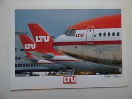 LTU   AIRBUS A 330   AIRLINE ISSUE / CARTE COMPAGNIE - 1946-....: Ere Moderne