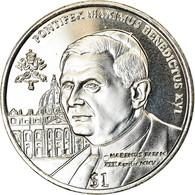 Monnaie, Sierra Leone, Dollar, 2005, British Royal Mint, Pape Benoit XVI, SPL - Sierra Leone