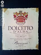 DOLCETTO D'ALBA BARISONE - ETICHETTA - ÉTIQUETTE - Vino Rosso