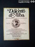 DOLCETTO D'ALBA SUPERIORE - CANTINA VILLA DORIA - ETICHETTA - ÉTIQUETTE - Vino Rosso