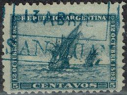 Argentine - 1892 - Y&T N° 93, Oblitéré - Oblitérés