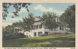 FORT GAGE, Illinois, 1930-40s; The Menard Home, Fort Kaskaskia State Park - Autres