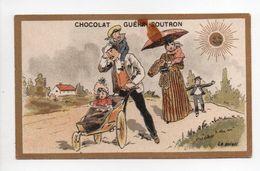 - CHROMO CHOCOLAT GUÉRIN-BOUTRON - PARIS - Le Soleil - - Guerin Boutron