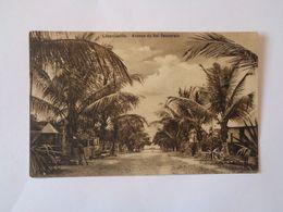 Leopoldville. - Avenue Du Roi Seuverain. (30 - 11 - 1909) - Congo Francés - Otros