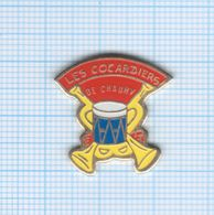 Pin's Les Cocardiers Harmonie De Chauny – 02 Aisne - Muziek