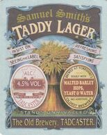 BEERMAT - SAMUEL SMITH'S BREWERY  (TADCASTER, ENGLAND) - TADDY LAGER - (Cat No 148) - (2008) - Portavasos