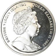 Monnaie, BRITISH VIRGIN ISLANDS, Dollar, 2002, Franklin Mint, Sir  Walter - Iles Vièrges Britanniques